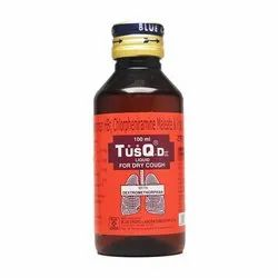 TusQ DX Cough Syrup, Bottle Size: 100 ml
