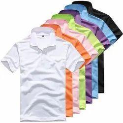Cotton Blue T Shirt, Size: Large