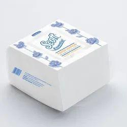 White Paper Napkin, Packet