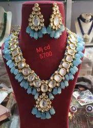 Kundan Long Necklace Set