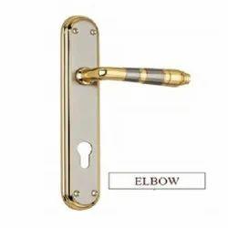 Elbow Brass Mortise Handles