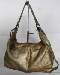 Golden 100% Leather MBE/IR/02 Ladies Bag