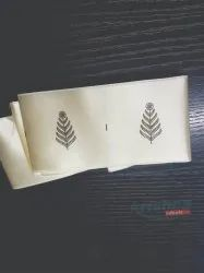 Silk labels for clothing