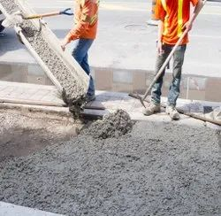 Gray Temperature Controlled Concrete, For Construction