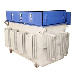 Three Phase 200KVA Oil Cooled Servo Stabilizer, 300 To 470 V, 415 V