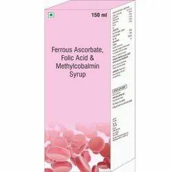 Ferrous Ascorbate Folic Acid & Methylcobalamin Syrup
