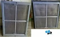 Stainless Steel High Velocity Panel Filter