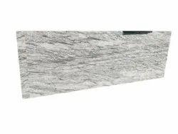 Polished River White Granite Slab, For Flooring, Thickness: 18mm