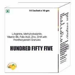 L-Arginine, Methylcobalamin, Vitamin B6, Folic Acid ,Zinc, DHA with Pronthocyanidin Granules