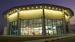 Steel Prefab Commercial Showrooms