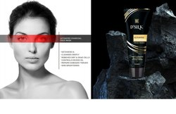 Dsilk Black Charcoal Face Wash, Age Group: Adults, Packaging Size: 100ml