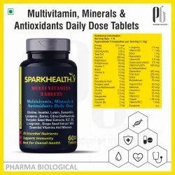 Sparkhealth Multi Vitamins Tablets, Pack of 60