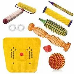 ACS Acupressure Handy Roller - I I I Magnetic- Ideal For General Message On Hands And Feet