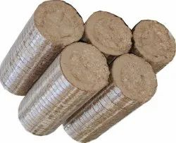 Saw Dust Biomass Briquettes, Thickness: 14 Mm