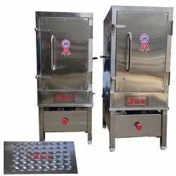 3 - 6 Kw Stainless Steel Idli Steamer For Hotel, Capacity: 36 - 192 Per Batch