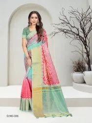 Fancy Digital Printed Saree