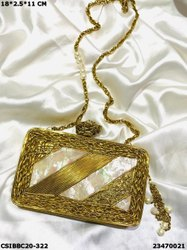 BRIDLE Brass MOP Clutches