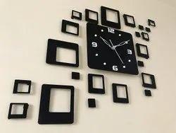 WALL CLOCK SQUARE DESIGN