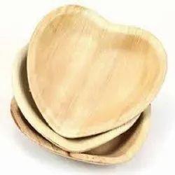 Heart Shape Areca Plate