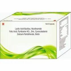 Lactic Acid Bacillus With Pantothenate, Biotin Capsules