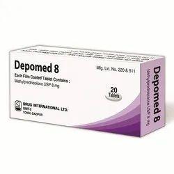 Methylprednisolone Tablet 8 mg