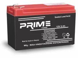 Prime Power 8Ah UPS Battery, 12V