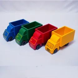 Indoor Wooden Kids Food Truck Toy, Child Age Group: 2-4 Years