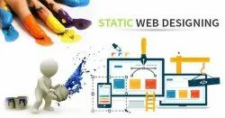 PHP/JavaScript Static Website Designing Services, With 24*7 Support