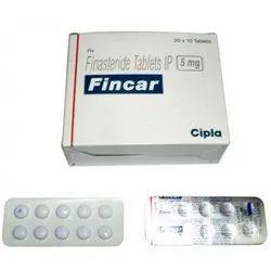 Fincar Finasteride 5mg Tablets