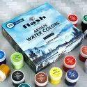 Flash Water Colors Paint  ( Set Of 25 Color/bottle,25ml Each )