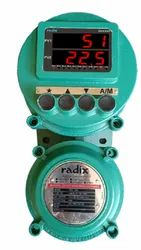 FLAMEPROOF DUAL CHANNEL INDICATOR WITH ALARMS