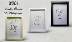 W003 Classic 5X7 Wooden Photoframe, For Gift, Size: 5*7