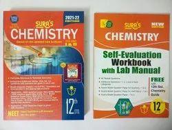 English Sura 12th Chemistry (Vol-1&2) + Free Self Evaluation Work Book