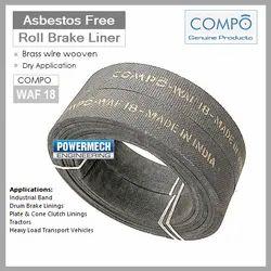 Non Asbestos Brake Liner