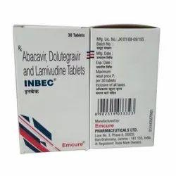 INBEC (Abacavir 300 Mg + Dolutegravir 50 Mg + Lamivudine 300 Mg)
