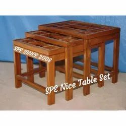 SPE Nice Wooden Table Set