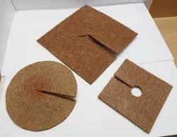 Cocoa Mulch Discs