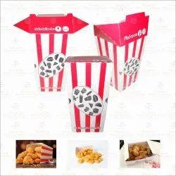 Chicken Popcorn Box