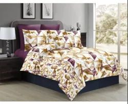 MUSTURD Printed Double Bed Sheets
