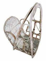 Brown Single Seater Cane Swing