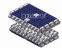 T 1500 LBP Roller Top Modular Belt (T-1005)