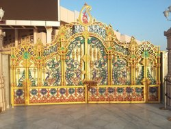 Raj Decorative SG Iron Gate, For Residential