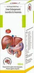 Liver Enlargemement Jaudice & Anorexia Syrup