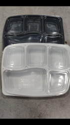5 Cavity Disposable Lunch Plate