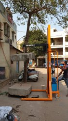 Shreeji Mild Steel Electric Hook Stacker, For Power Production, 550 mm