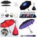 Reverse Umbrella with C Handle