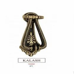 6 inch Kalash Brass Door Knocker