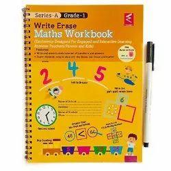Wissen English Maths Write And Erase Workbook