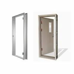 Glossy Powder Coated Pressed Steel Doors and Windows frames