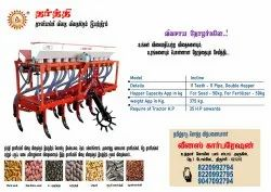 Multicrop Seed Drill Machine